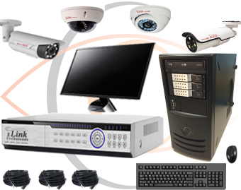 CCTV Security System Kits