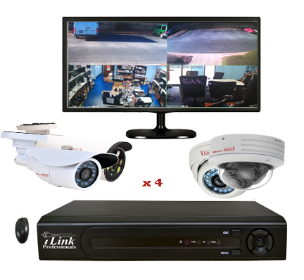 Complete 4 Camera System Kits