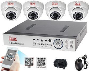 Complete Standalone DVR/NVR Kits