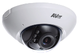 HD 720 1MP AVer IP Dome Security Camera with 2.8mm Fixed Lens