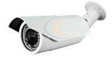 5 MP, 3 MP, 2 MP, 1080P & 720P IP Megapixel IR Bullet with PoE and 3.5-10mm varifocal lens H.264/MPEG4/JPG