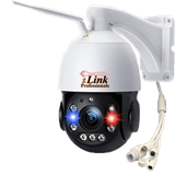 5MP Speed Dome WiFi PTZ 18x Zoom Camera Built in Laser LED Human Tracking & Detection