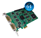 Qty 6 AVerDiGi Hybrid NV6480 EXPRESS 16 Port Video & Audio 480fps (Stackable: 2 Cards = 960fps) Real Time