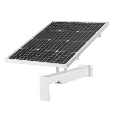 Solar Panel 60W with 40AH Built-in Lithium Battery and Mount