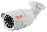 HD 4K 8MP White Bullet CCTV Security Coax Camera AHD +TVI+CVI+CVBS / 2000 + TVL Analog Infrared Indoor/Outdoor Color D/N