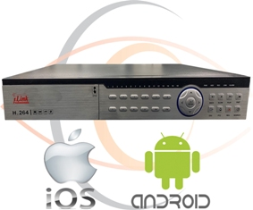 HD Security Camera DVR/NVR 5-in-1 (AHD +TVI+CVI+CVBS / 2000 + TVL Coax+Network Analog/IP) 1080p Standalone 32 Port