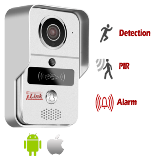 Wireless Smart Wi-Fi Doorbell with 720P HD Security Camera