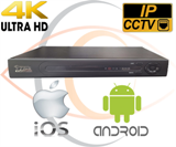 IP 4K/5MP Security Camera NVR Standalone 8 Port