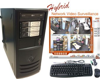4 Port 30fps Network DVR System